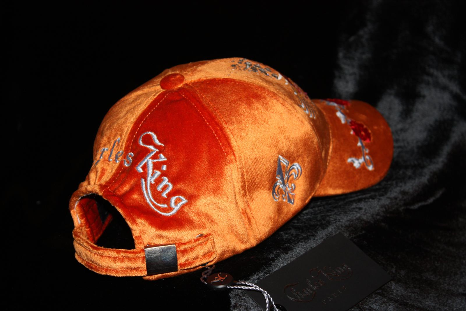 ... Love Heart Silk Velvet Orange Women Hat Fashion Baseball Cap Glam Rock  Clothing Urban Wear ... f8749d71b093