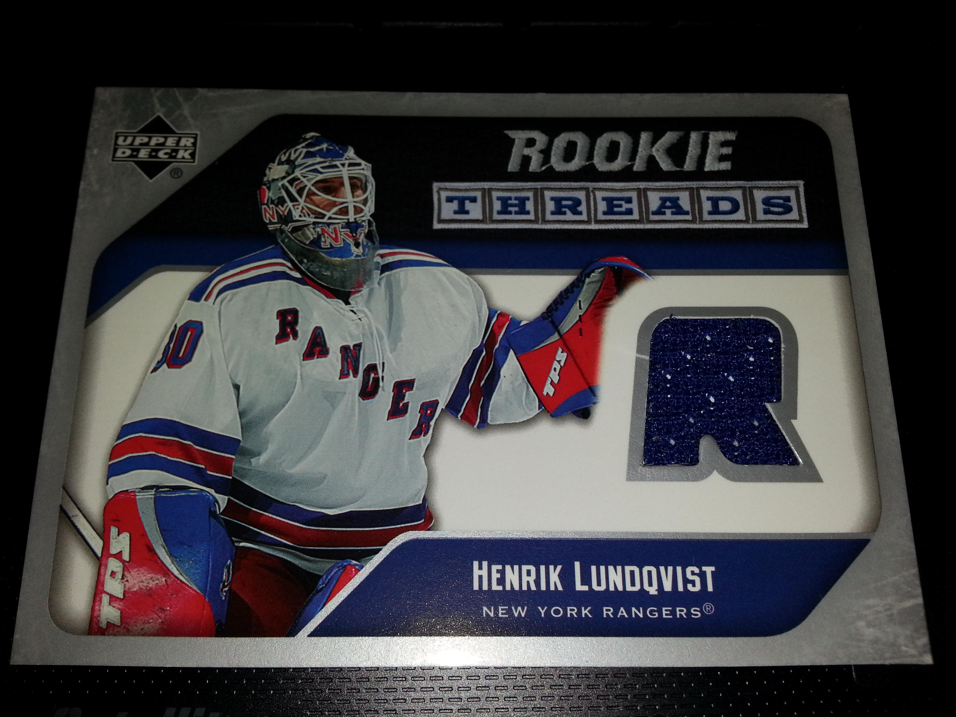 Henrik Lundqvist Rookie On Storenvy