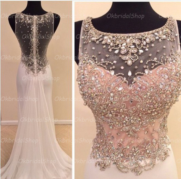 9ad8eb3e3a See through mermaid prom dresses