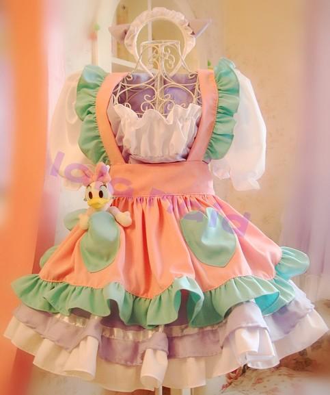 Soft Sister Cos Maid Dress Color Cat Ear A Set Free