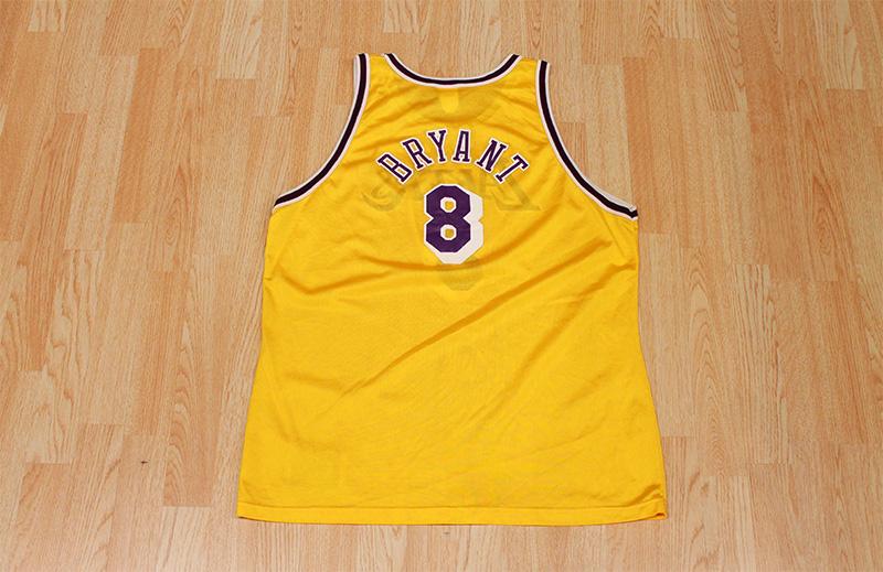 premium selection c3874 5346b Kobe Bryant Lakers Jersey from SLAM! Vintage