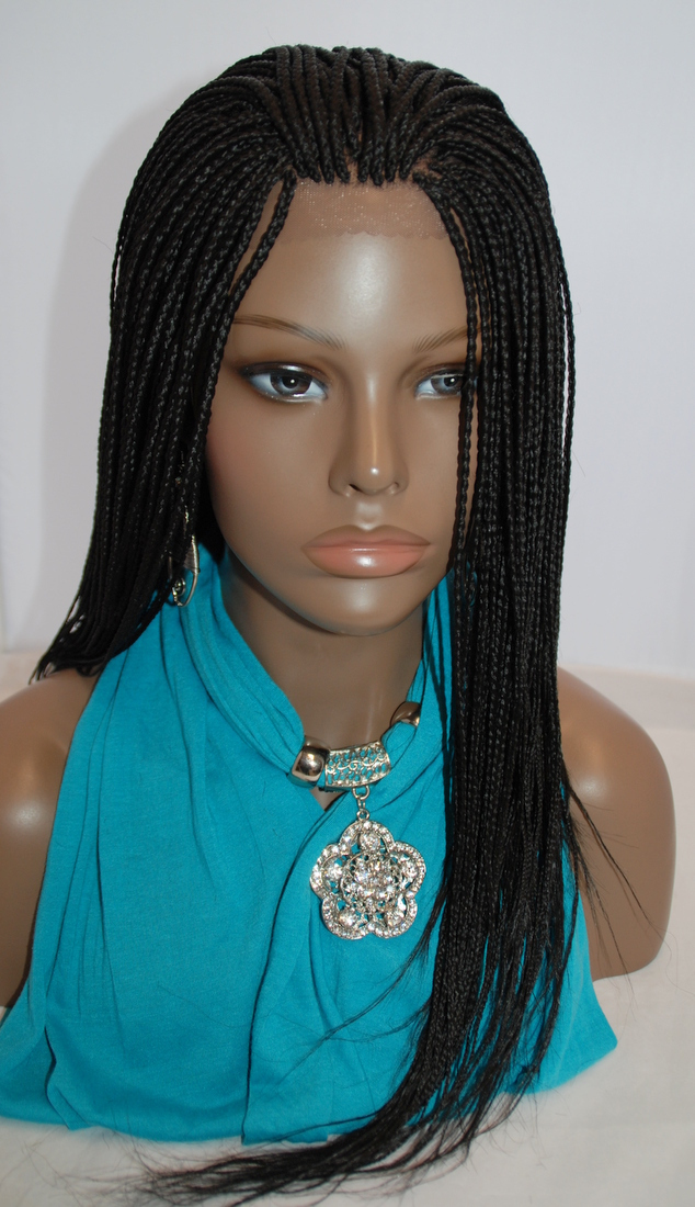 Hand Braided Lace Front Wig 1 Micro Braids On Storenvy