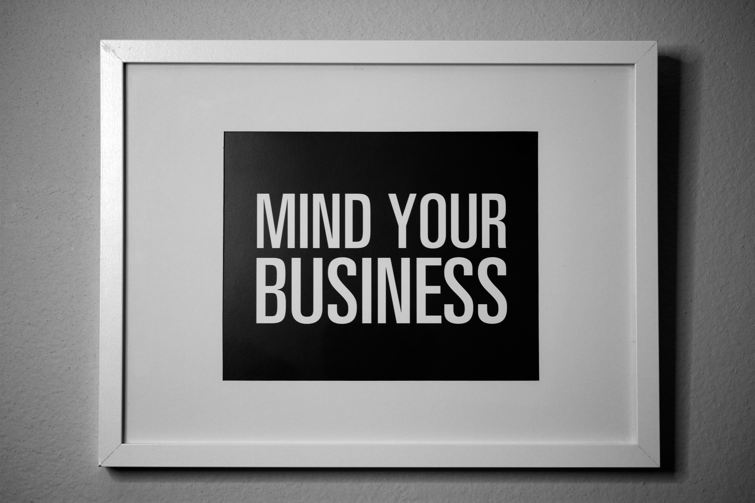 Mind Your Business On Storenvy