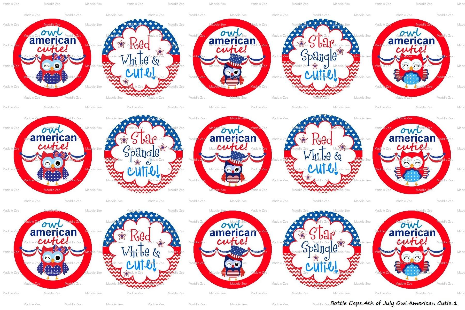 Owl American Cutie Digital 1