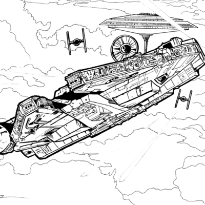 empire strikes back coloring pages - photo#38