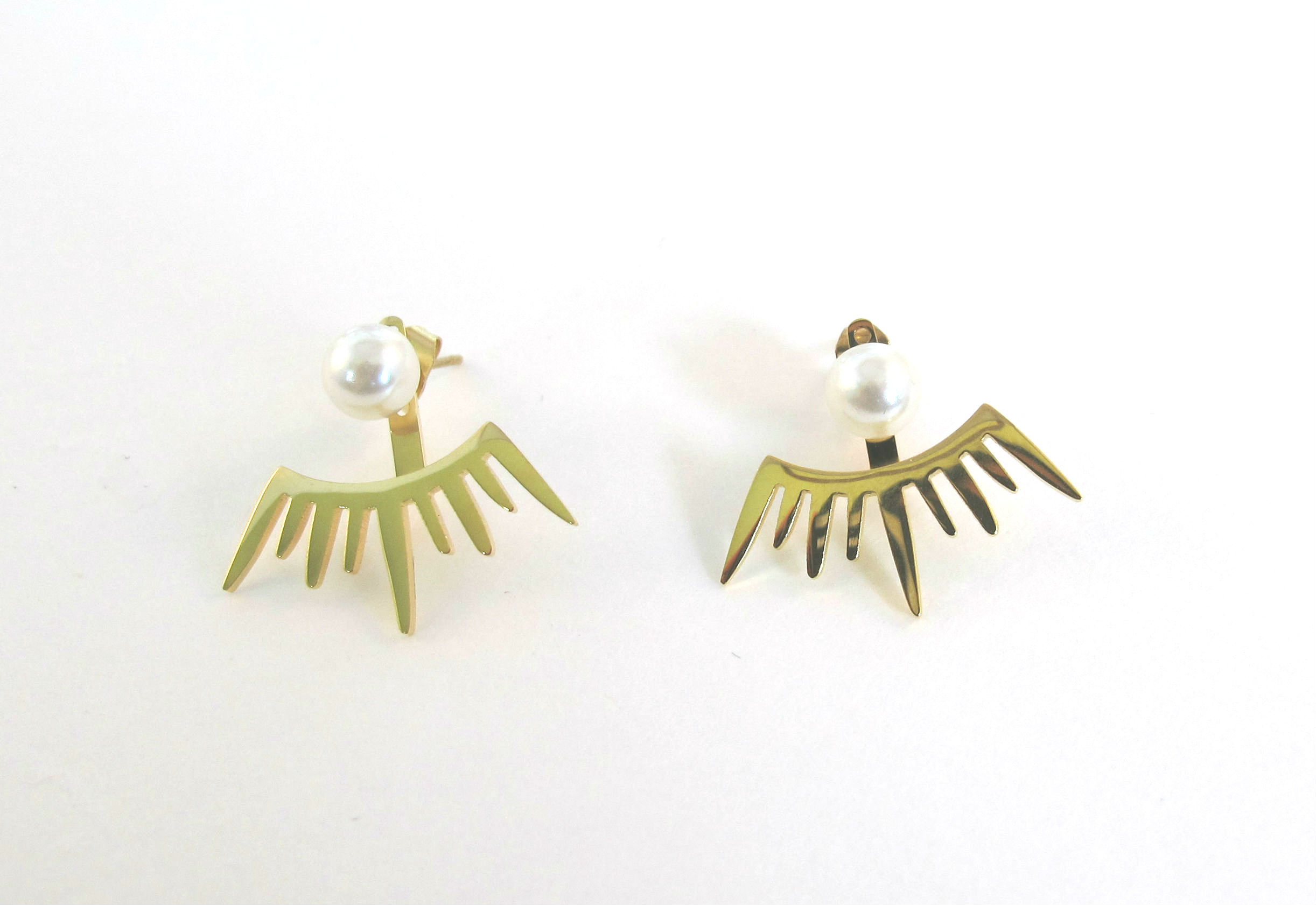 type jewelry earrings flowerearring earring gold hawaiian