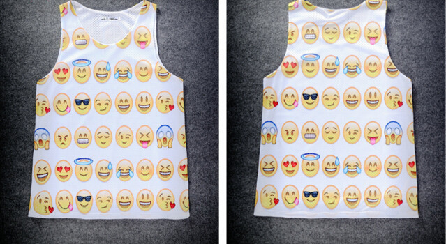 c957ca0932d062 Emoji Muscle Shirt · FaceGram · Online Store Powered by Storenvy