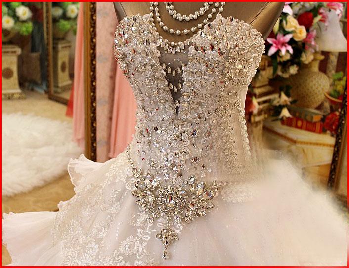 crystals wedding dresses | Wedding