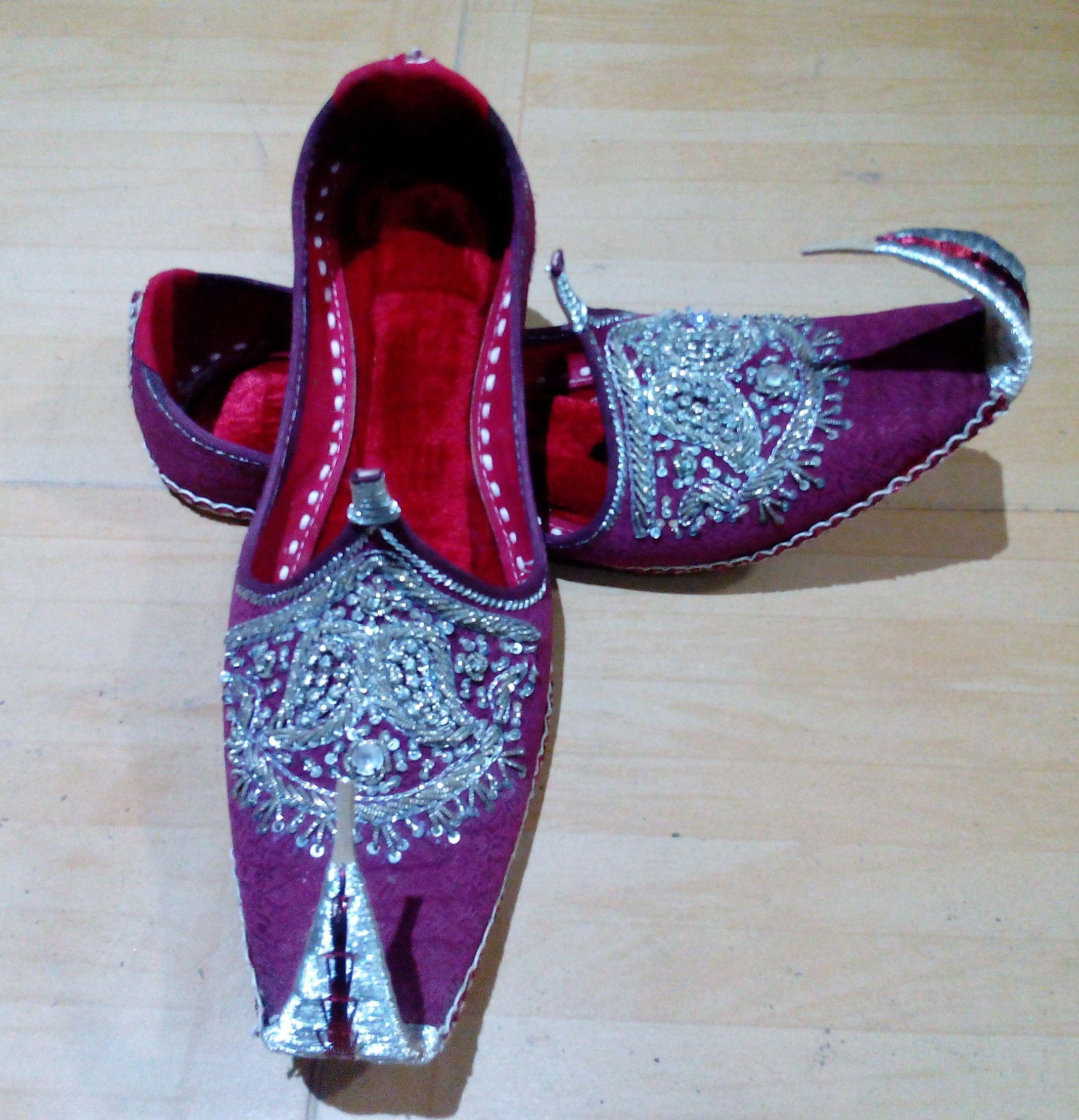 482d5d0e9 FREE SHIPPING Unisex Handmade Leather Khussa Bridal Wedding Shoes on  Storenvy