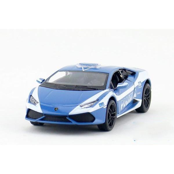 5 Lamborghini Huracan Lp610 4 Police Diecast Metal Cars Toys For