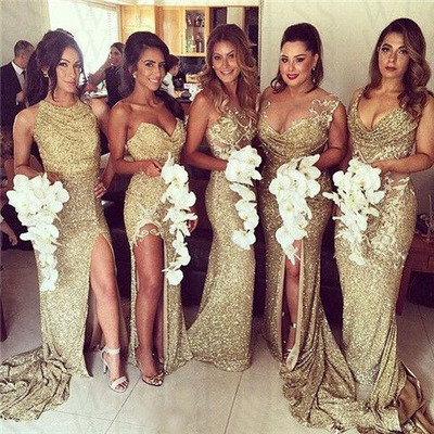 long bridesmaid dress, gold bridesmaid dresses,