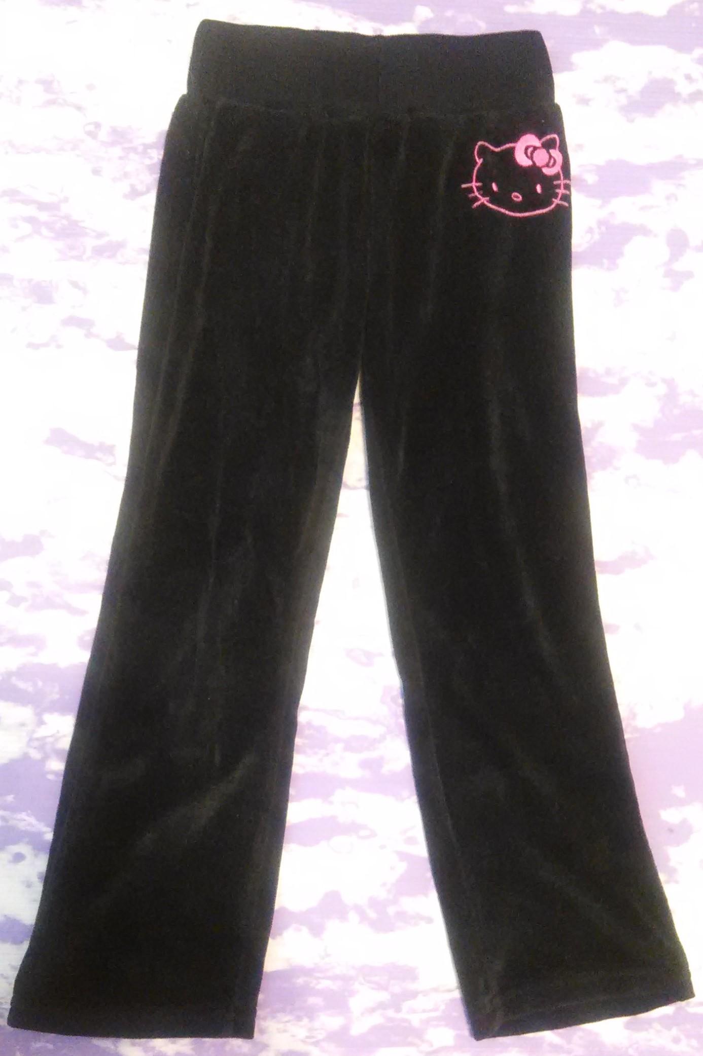 fdef75e9b Hello Kitty Pants - Black on Storenvy