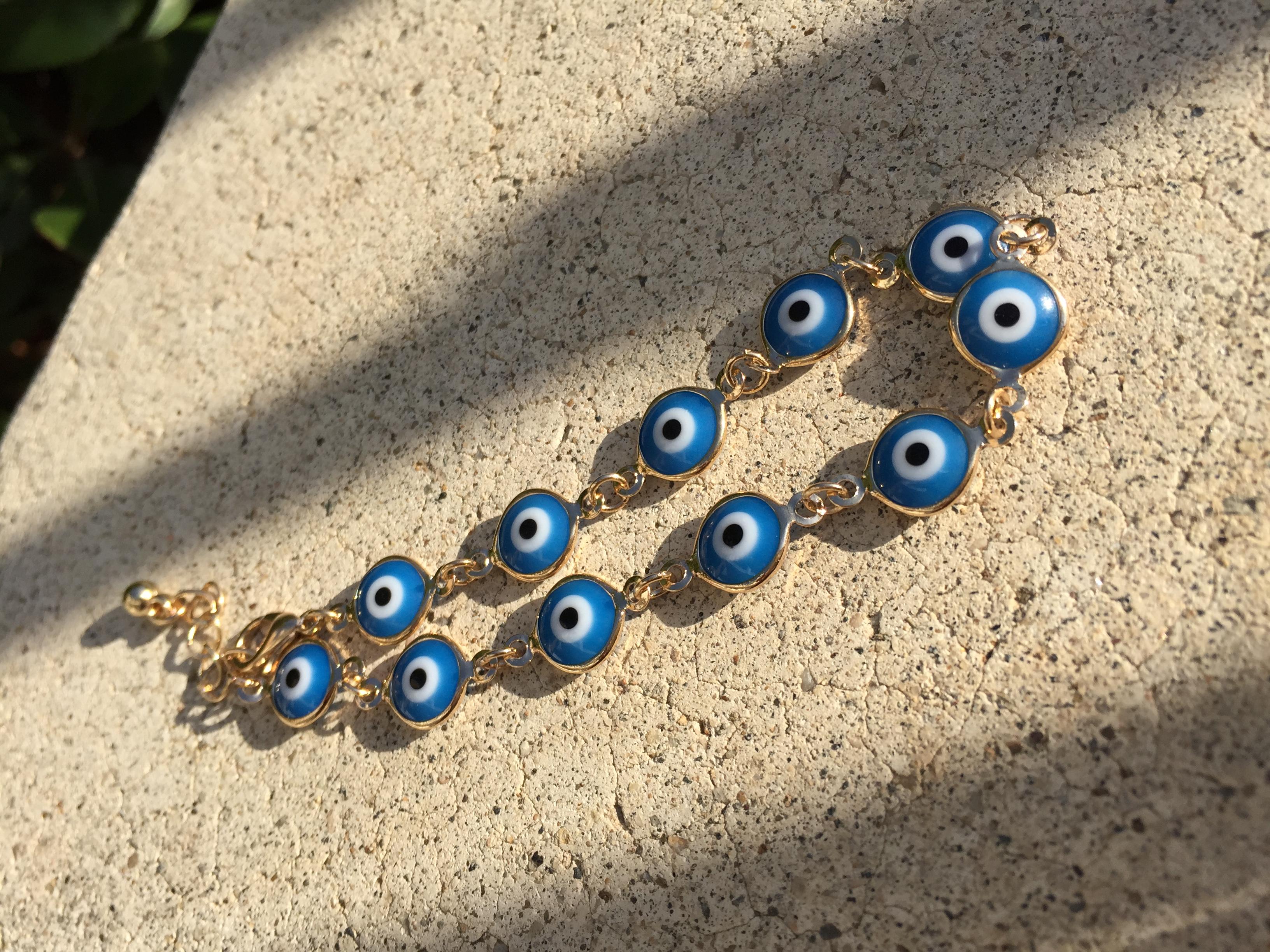 32c913a4cc0c2 Evil Eye Bracelet (Large)