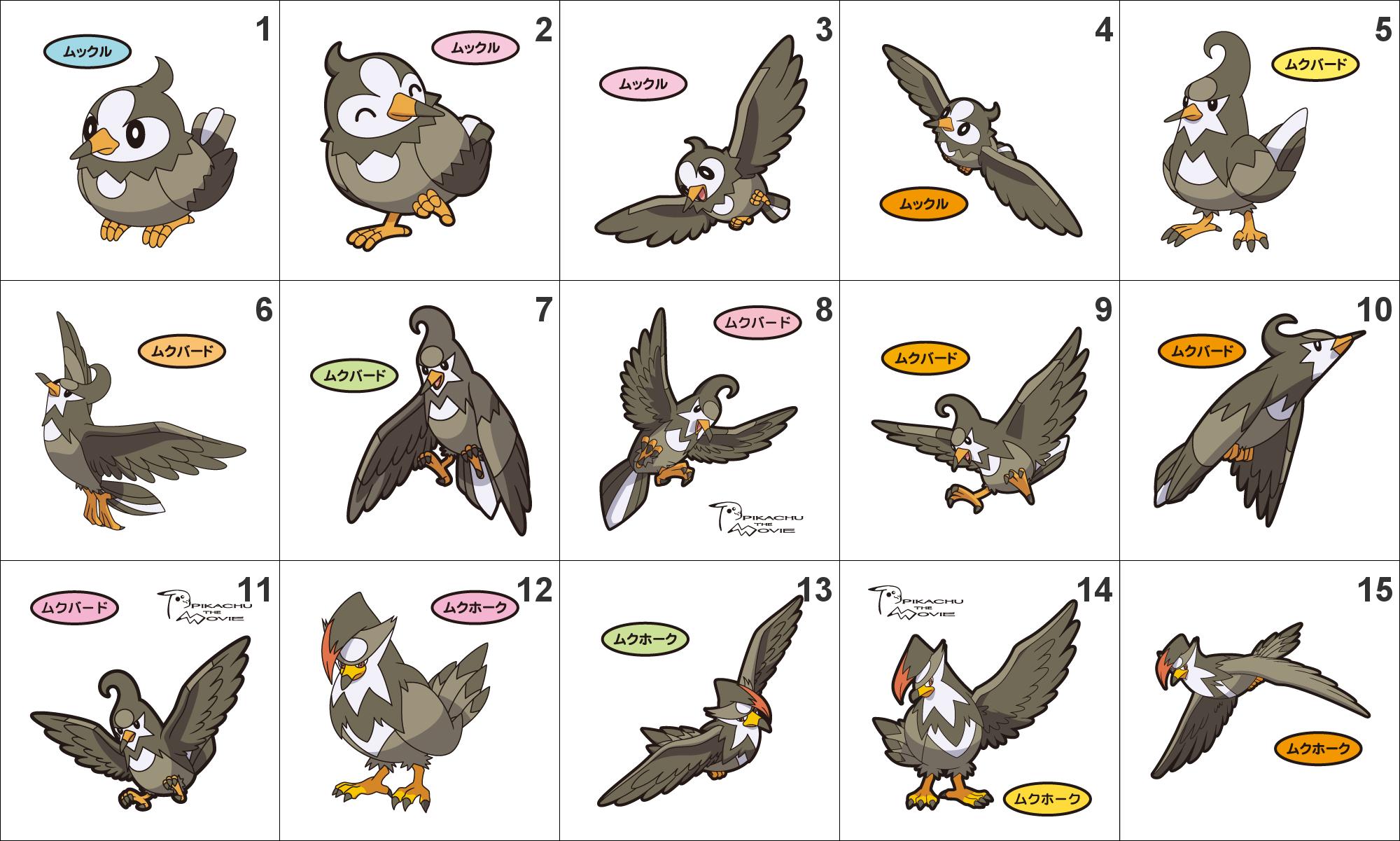 Staravia Images   Pokemon Images