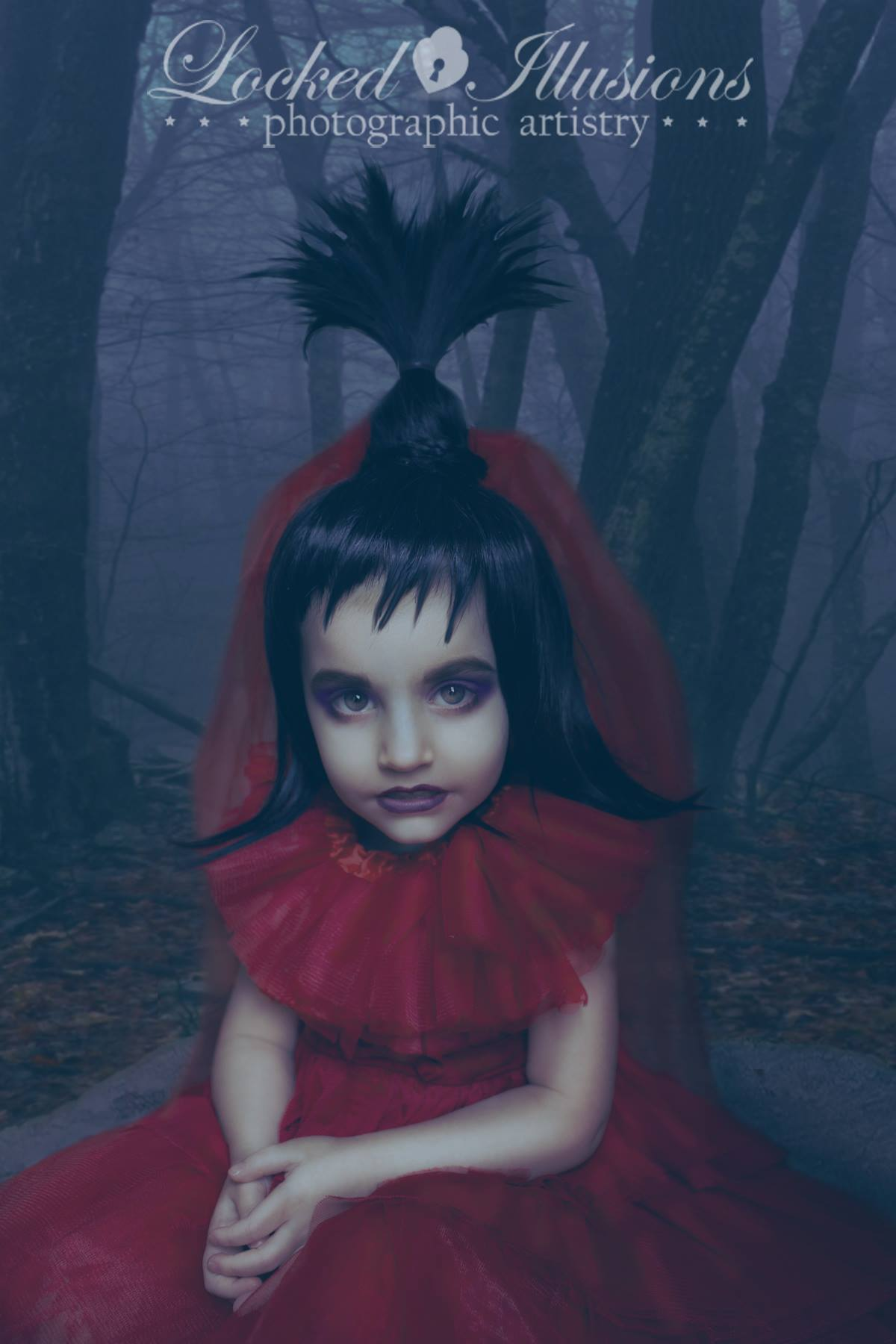 Child Size Beetlejuice Red Wedding Gown Costume Lydia Deetz Tim Burton Custom Sold By Faeryspell Creations On Storenvy