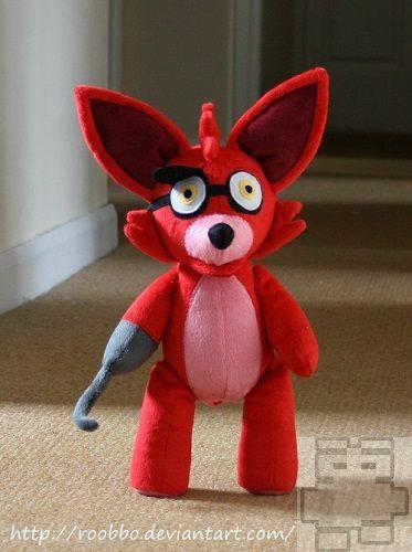 Five Nights At Freddy S Foxy Plush On Storenvy