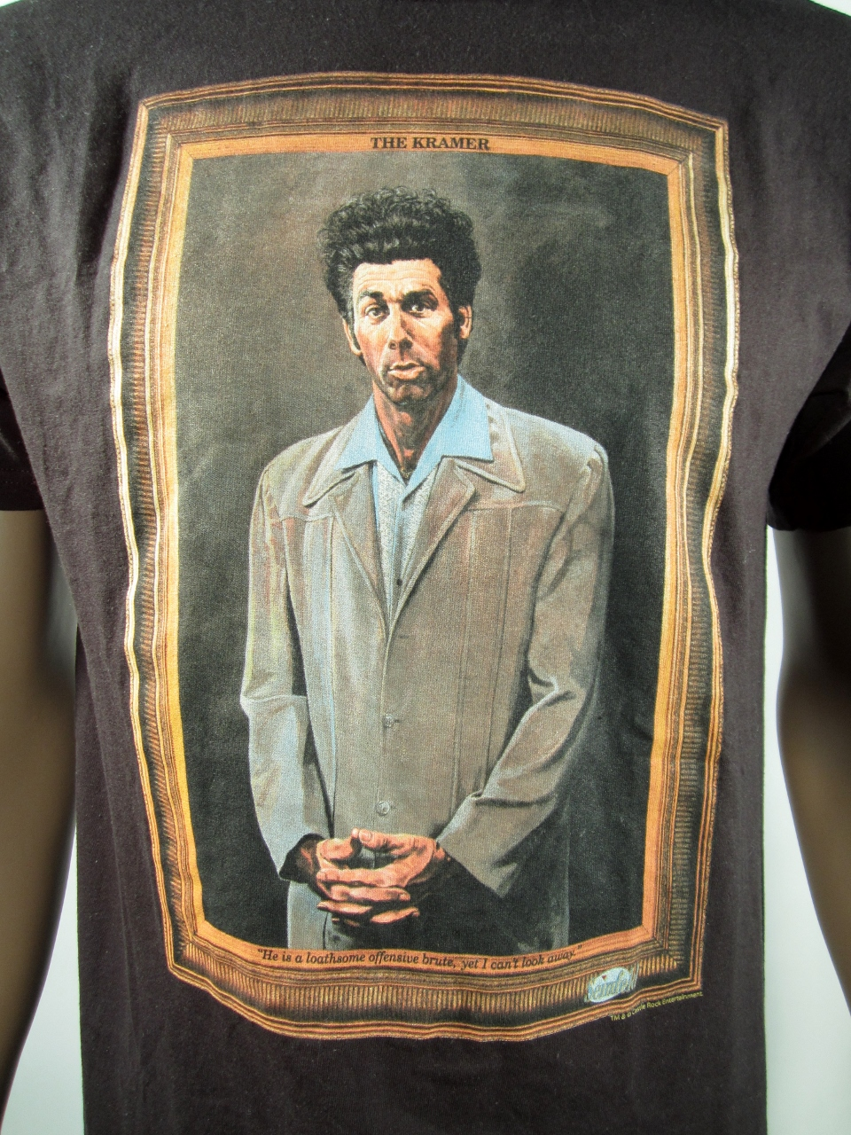 db6ad325c Official Seinfeld The Kramer Painting T-Shirt M NWT - Thumbnail 1 ...