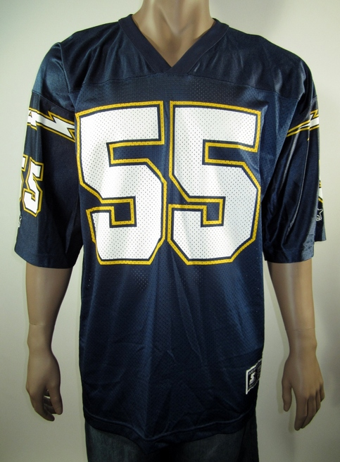 2d7aba4e Junior Seau San Diego Chargers NFL Starter Jersey 52 NWT on Storenvy