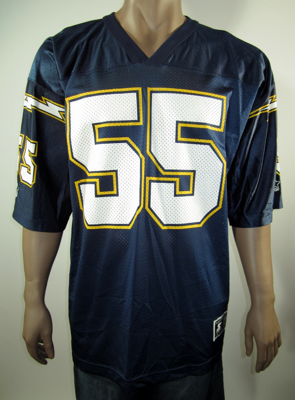 20d0797e9 Junior Seau San Diego Chargers NFL Starter Jersey 52 NWT on Storenvy