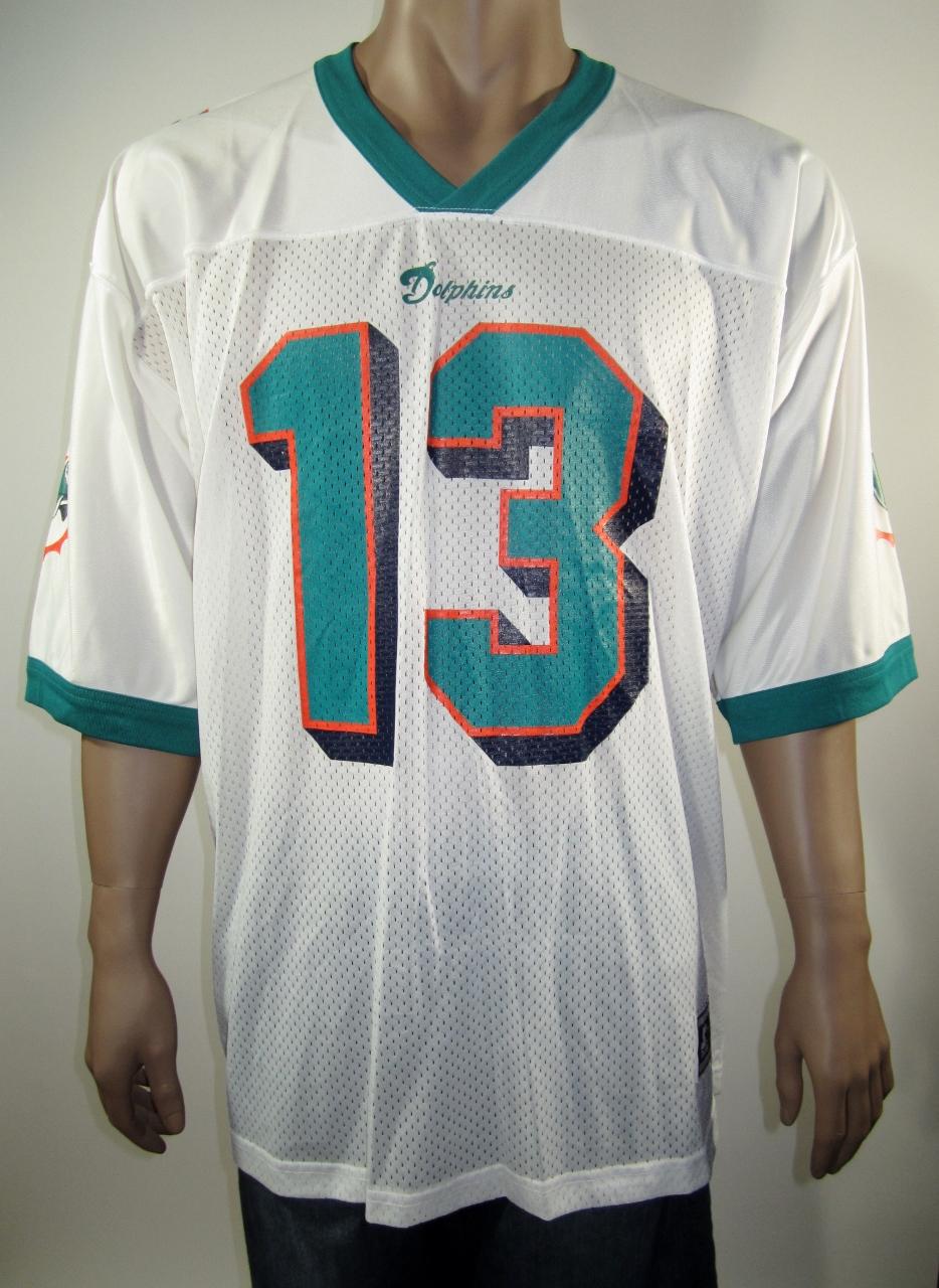 watch 95531 bb28c Dan Marino Miami Dolphins NFL Starter Jersey 52 NWT from DFRNSH8