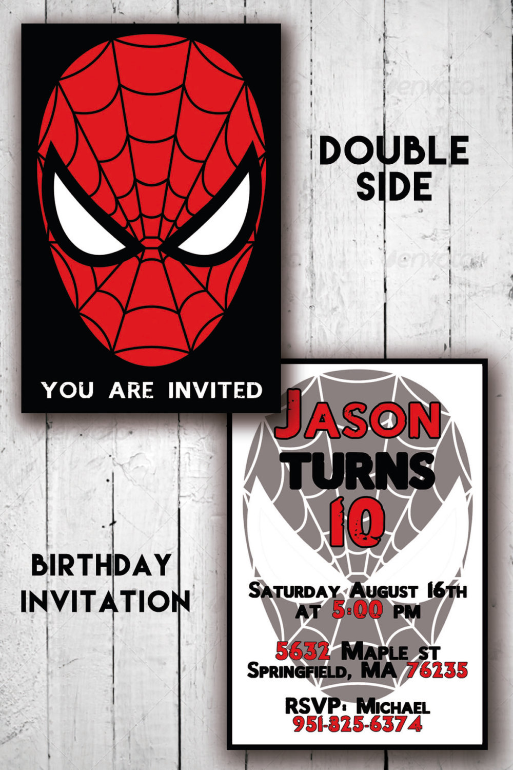 graphic regarding Printable Spiderman Invitations referred to as DS SPIDERMAN INVITATION - Birthday Invitation - Little ones Occasion invites - Printable - Invitacion offered as a result of artofjah
