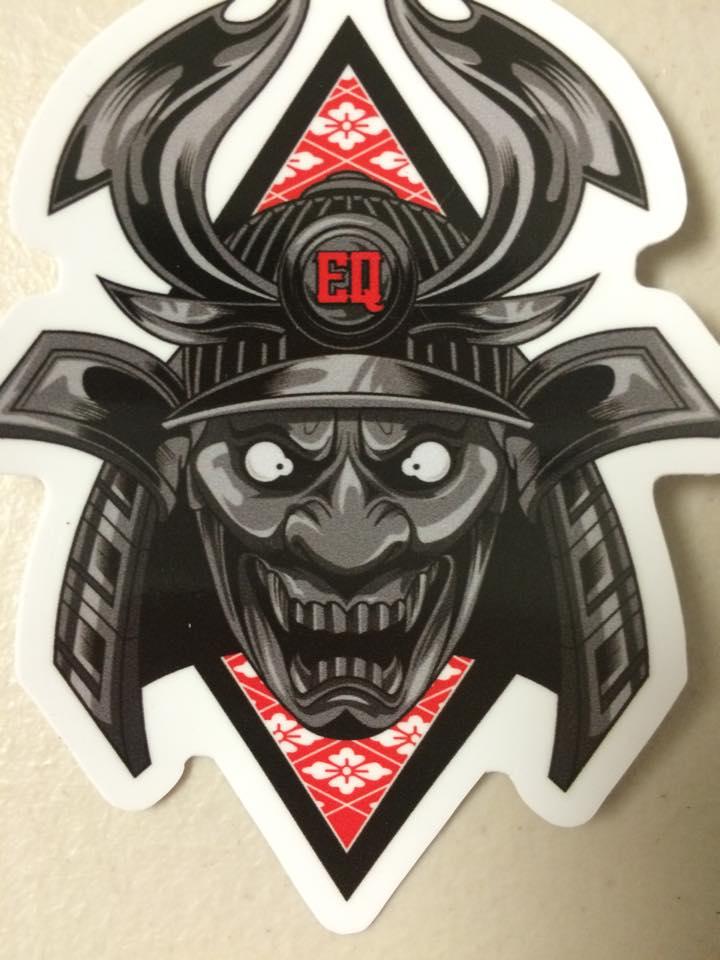 Hannya x samurai slap sticker thumbnail 1