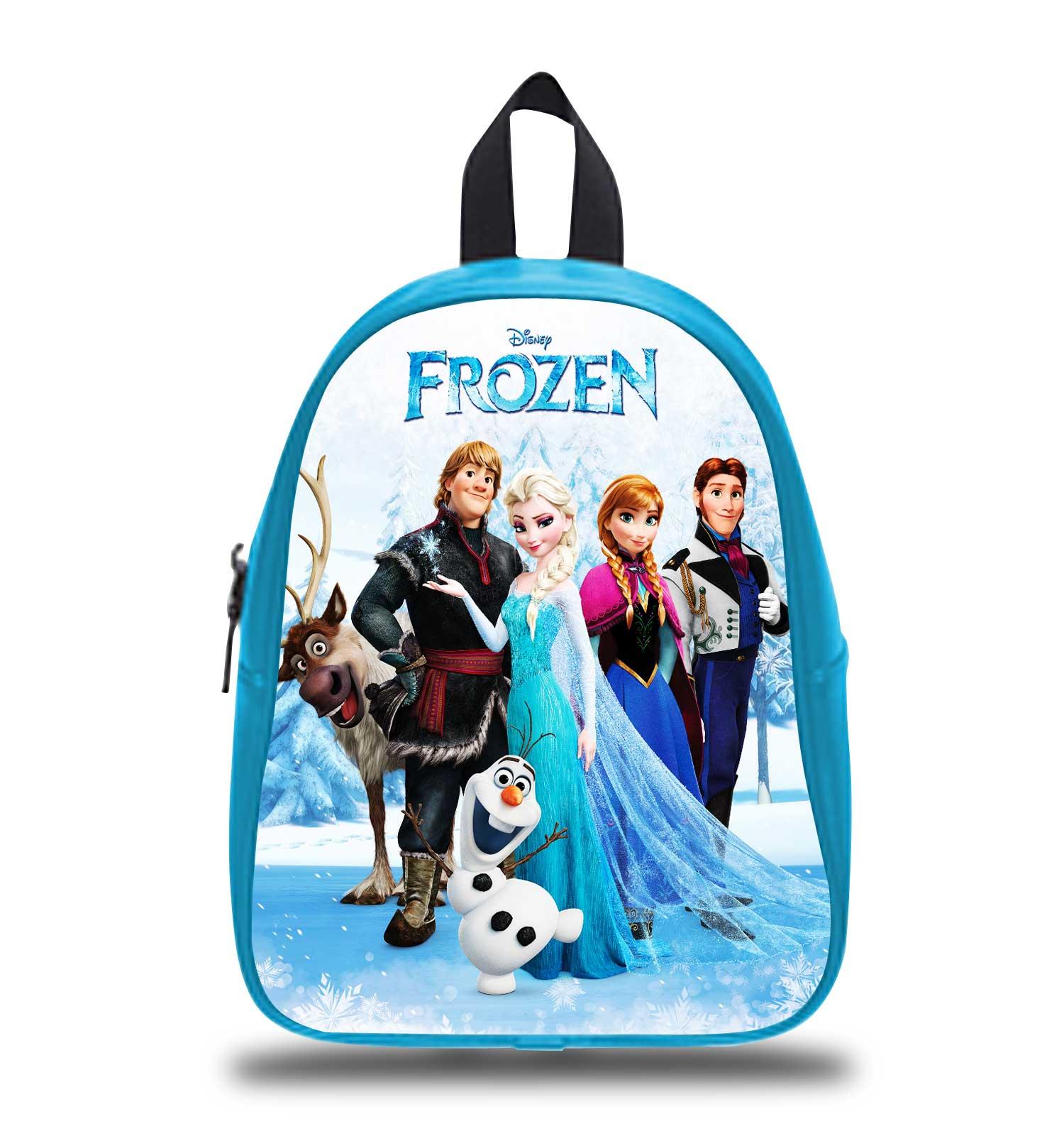 cca8c9e45e2 Disney Frozen all Character Elsa Anna Olaf Kristoff Schoolbag    Backpack    S M L   Kids
