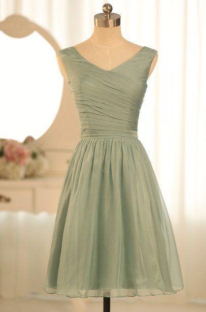 35772de0cd3 dusty green bridesmaid dresses