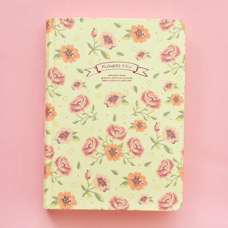 Vintage Flower Diary Notebook - FREE SHIPPING Girly Romantic Vintage ...