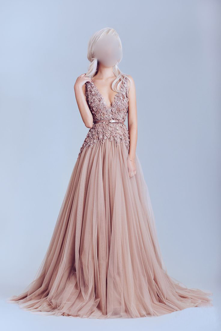 tulle formal dresses