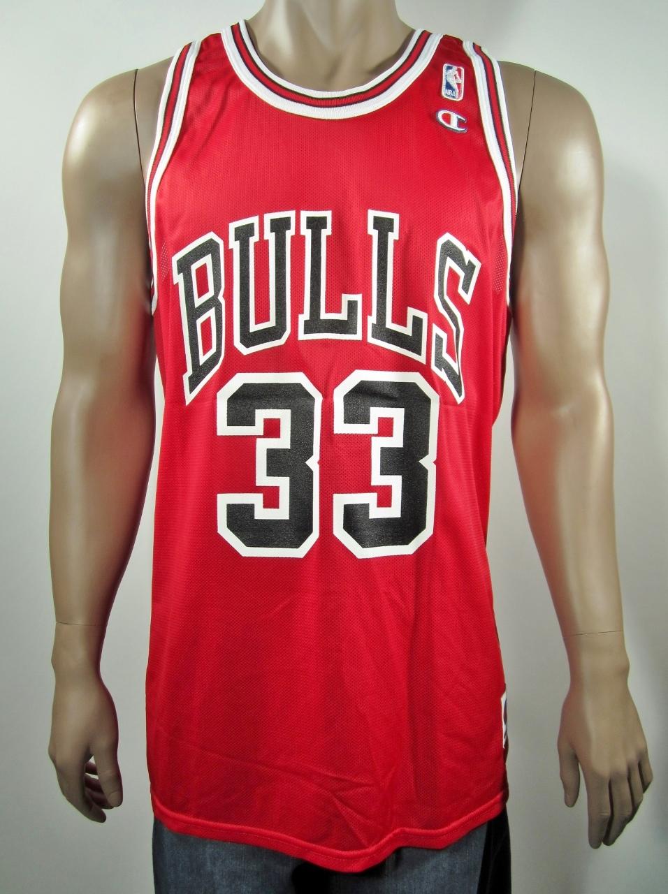 948b9b3e555 Scottie Pippen Chicago Bulls Champion Jersey 48 NWT · DFRNSH8 ...