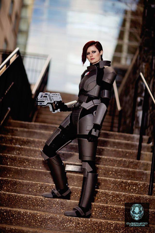 Commander Shepard 8 X10 Sold By Sayakat Cosplay