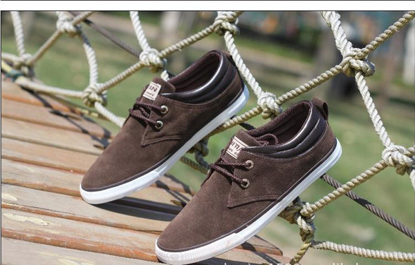 ed52a8e91 Brand Men Shoes Casual Lace Up Canvas Shoes Men on Storenvy