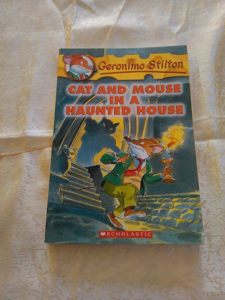 Cat and Mouse in a Haunted House #3 By: Geronimo Stilton from Sage Books &  Gifts