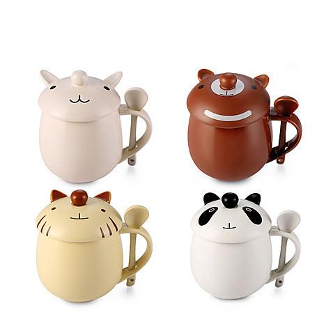 Free Shipping Cute Cartoon Caffe' Latte Mug from Moooh!!