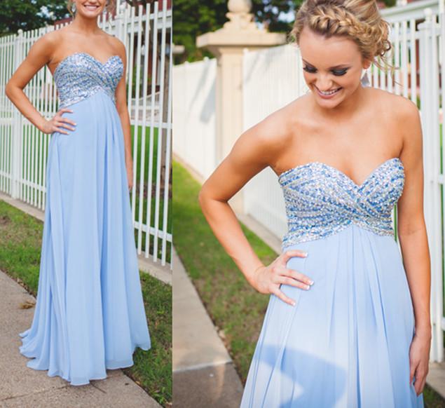 ad91a8c0add Empire Waist Cheap Prom Dresses