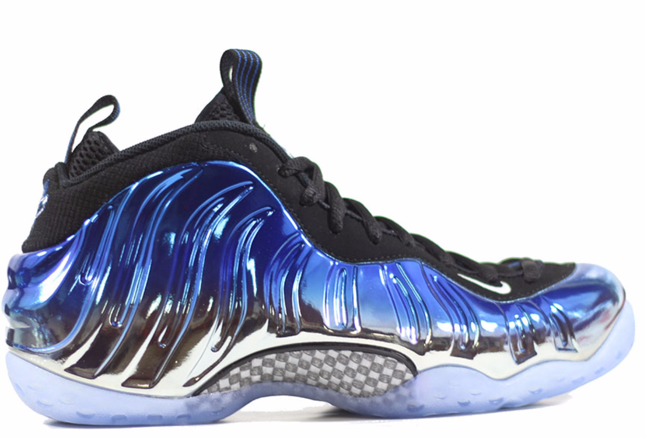 huge selection of fd3ec 7e7a7 ... Sold Out Nike foamposite blue mirror  575420-008