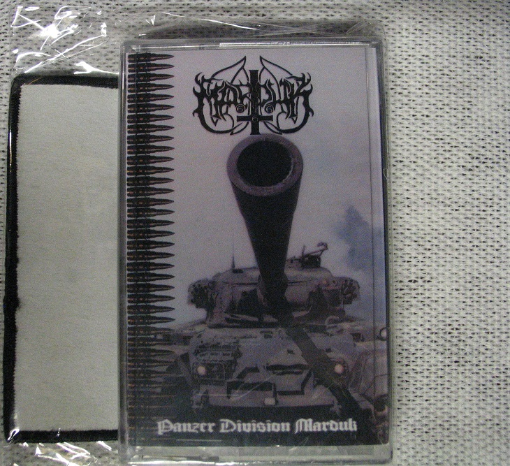 Marduk Panzer Division Marduk Cassette With Patch 183 Void