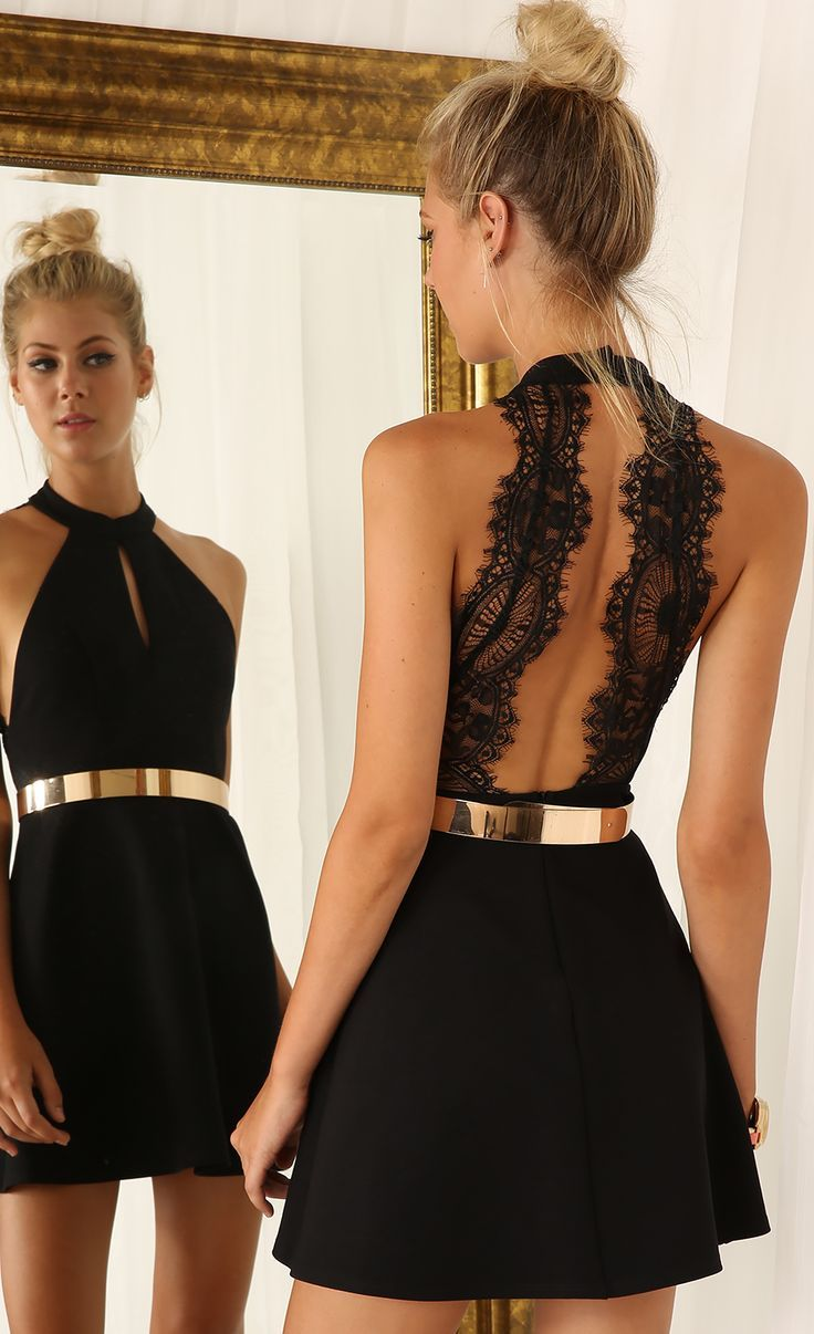 Backless Dresses without Person