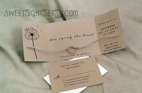 tying the knot wedding invitations rustic wedding wedding