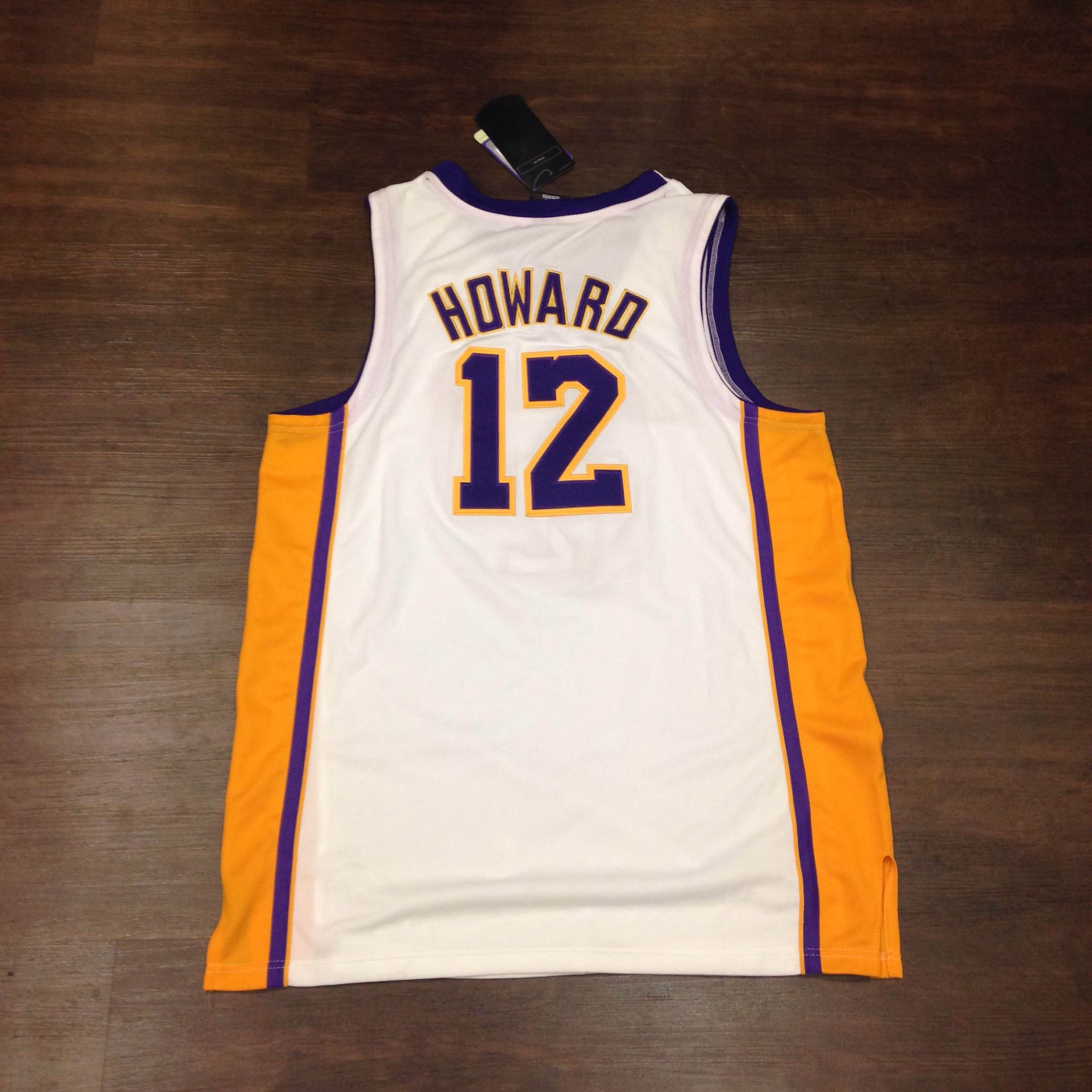 sports shoes fd4ce c201b BNWT Authentic Dwight Howard Lakers Jersey Size 52 sold by Kings Court  Vintage