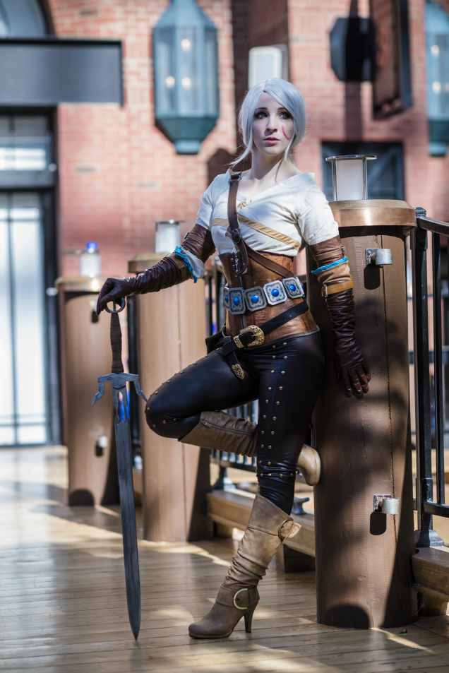 Ciri the Lion Cub of Cintra from Zerggiee Cosplay