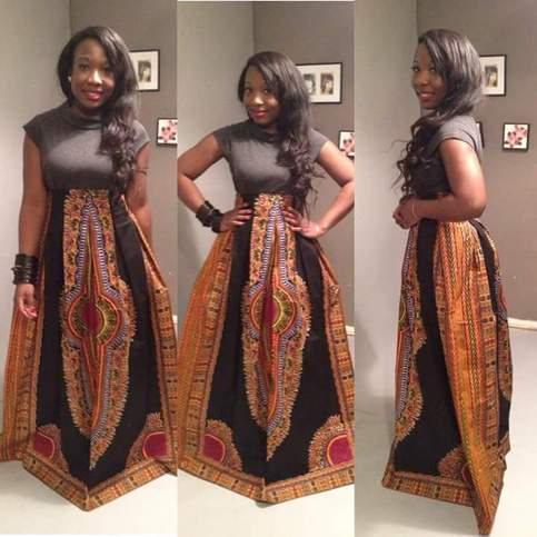 Long Dashiki Skirt Free Shipping On Storenvy