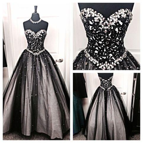 26820834 Black Prom Dresses Floor Length pst0330 on Storenvy