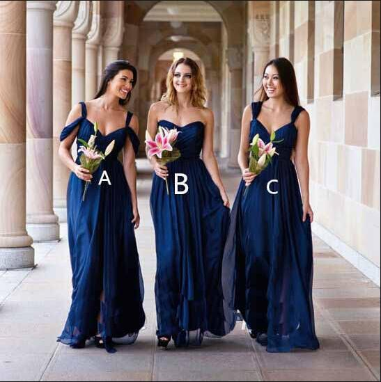649da370bab Beauty Royal Blue Bridesmaid Dresses With Spaghetti Straps Prom Dress Long  Party Dress long bridesmaid dress