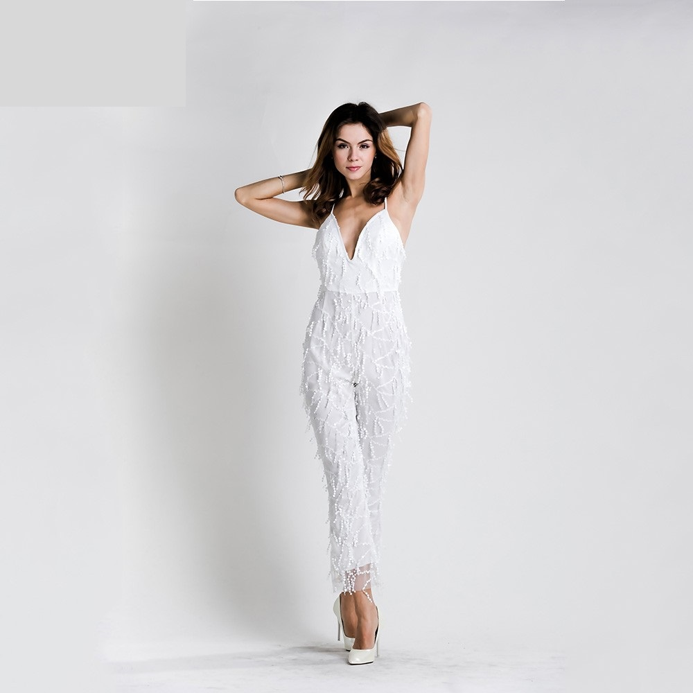 0e889e7fca5 White Sequin Jumpsuit · somethingshelikes · Online Store Powered by ...