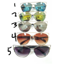aa63a5a9af1 RED RIMLESS SUNGLASSES on Storenvy