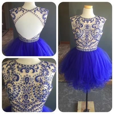 Short Homecoming Dresses Rhinestones