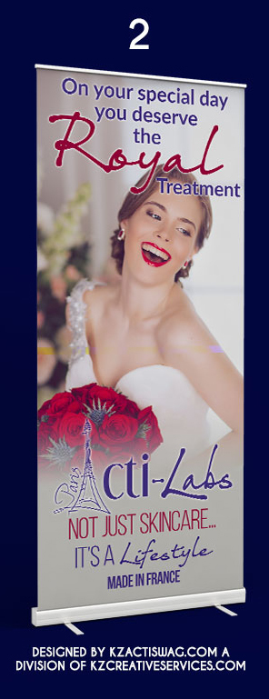 Acti Labs Premium Retractable Banner Bridal 2 183 Kz