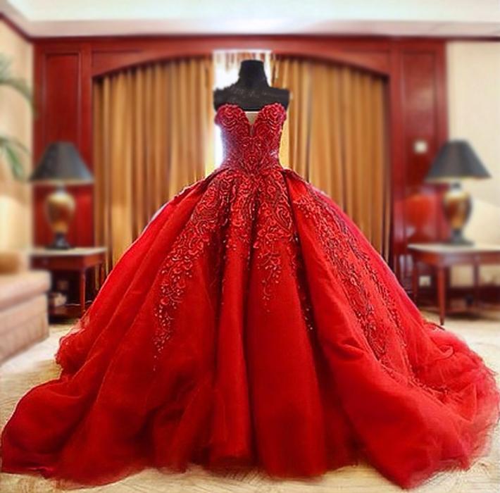 Luxurious Ball Gown Wedding Dresses